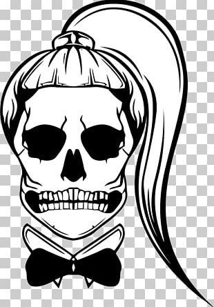 Born This Way Skull Hair Album Art PNG