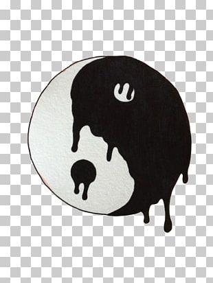 Yin And Yang Symbol Drawing Taoism PNG