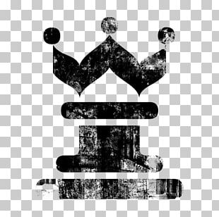 Chess Piece Queen King Icon PNG