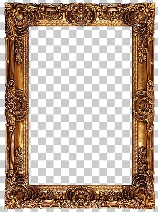 Frame Oil Painting High-definition Video PNG