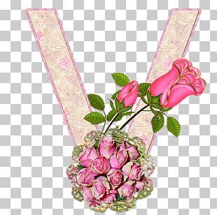 Letter Alphabet Flower V Z PNG