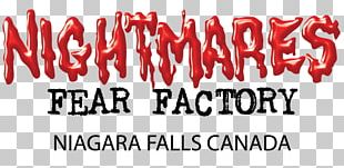 Nightmares Fear Factory Logo Winter Festival Of Lights PNG