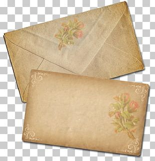 Kraft Paper Envelope Letter Snail Mail PNG