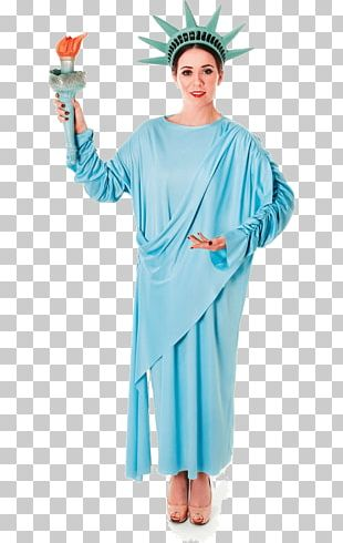 Statue Of Liberty The Works Fancy Dress Costume Party Clothing PNG