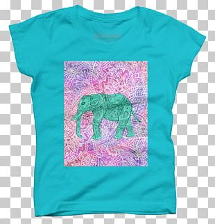T-shirt Paisley Textile Douchegordijn Bluza PNG