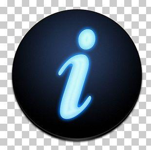 Symbol Electric Blue Font PNG