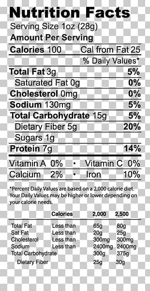 Broad Bean Nutrition Facts Label Potato Chip Dietary Fiber Barbecue PNG