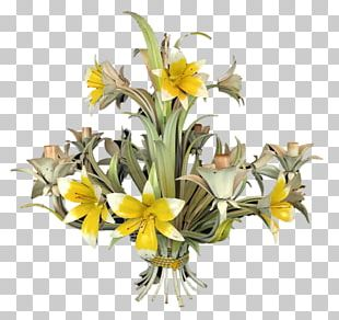 Floral Design Cut Flowers Yellow Flower Bouquet PNG