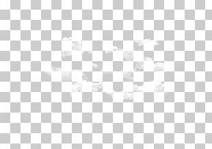 White Frame Black Symmetry Pattern PNG