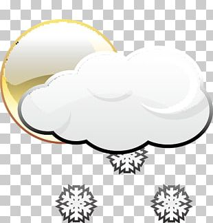 Weather Rain And Snow Mixed Cloud Icon PNG