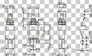 Push-button Electrical Switches Floor Plan Engineering PNG