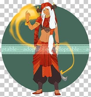 Costume Design Cartoon Character PNG