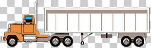 Trailer Car PNG