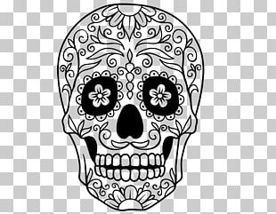 Calavera Coloring Book Skull Day Of The Dead Mexican Cuisine PNG