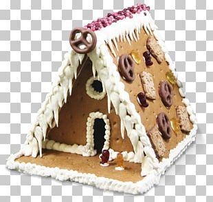 Gingerbread House Hansel And Gretel Cake Graham Cracker PNG
