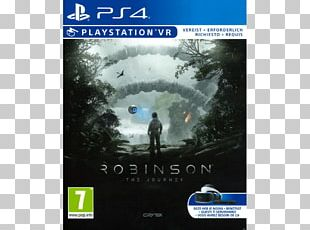 PlayStation VR Robinson: The Journey PlayStation 4 Video Game CRYENGINE PNG