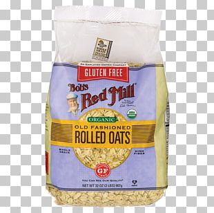 Breakfast Cereal Rolled Oats Bob's Red Mill Gluten-free Diet PNG