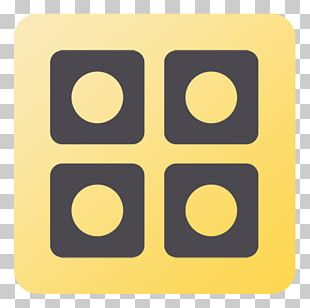 Square Symbol Yellow Pattern PNG