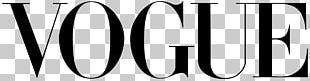 Vogue Logo Magazine Fashion PNG
