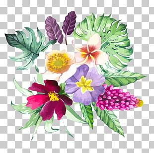Watercolor: Flowers Watercolor Painting Illustration PNG