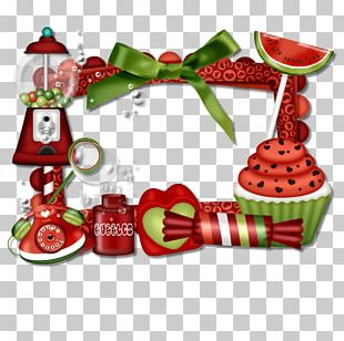 Christmas Ornament Fruit PNG