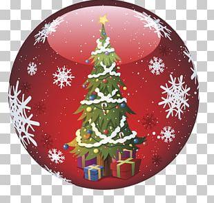 Christmas Ornament Snowflake Illustration PNG