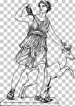 Artemis Ancient Greece Greek Mythology Goddess PNG