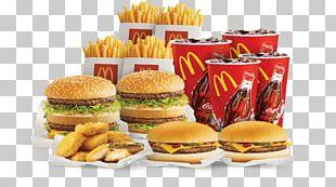 McDonald's Big Mac Hamburger French Fries Fast Food PNG