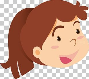 Girl Avatar Illustration PNG