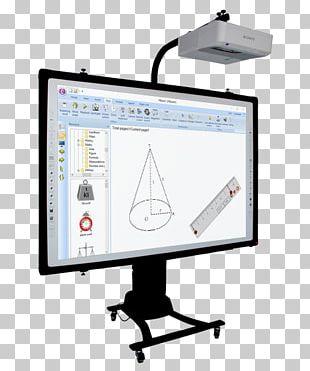 Computer Monitors Multimedia Papan Tulis Interaktif Document Cameras Computer Monitor Accessory PNG