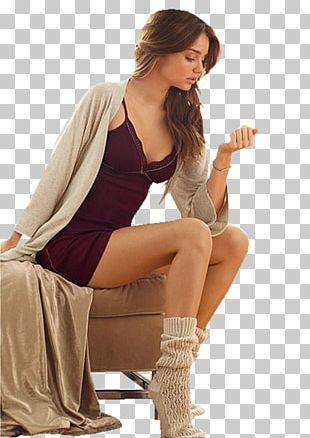 Miranda Kerr Model Eames Lounge Chair Fashion Victoria's Secret PNG