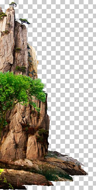 Mountain 3D Modeling PNG