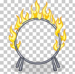 Ring Of Fire Circus Drawing PNG