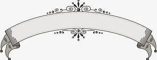 European Vintage Lace Ribbon Decorative Elements PNG