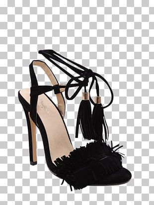 Slipper Sandal Stiletto Heel High-heeled Shoe PNG
