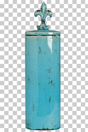 Turquoise Cylinder PNG