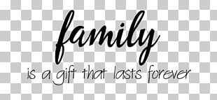 Family Tree Quotation Love Gift PNG