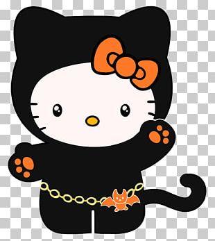 Hello Kitty YouTube Halloween PNG
