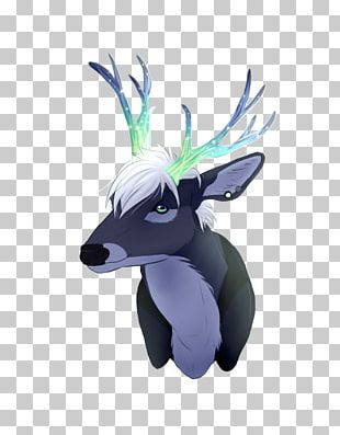 Reindeer Horse Cartoon Figurine PNG