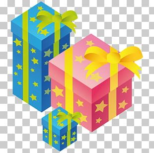 Box Gift Yellow PNG