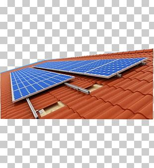 Solar Panels Photovoltaics Photovoltaic System Photovoltaic Mounting System Roof PNG