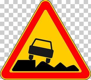 Danger Road Sign In France Traffic Sign Panneau De Signalisation Routière Temporaire En France Traffic Code PNG