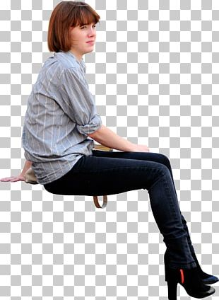 Sitting Drawing Woman PNG