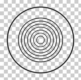 Plastic Circle Point Line Art Font PNG