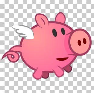 Pig Pink M Snout RTV Pink PNG