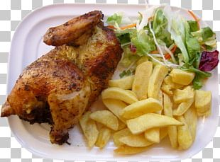 Pollo A La Brasa Peruvian Cuisine French Fries Salchipapas Roast Chicken PNG