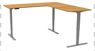 Table Standing Desk Computer Desk Office PNG