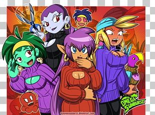 Shantae And The Pirate's Curse Shantae: Half-Genie Hero Shantae: Risky's Revenge Game Digital Art PNG