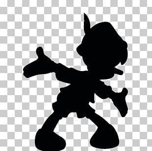 Silhouette Pinocchio PNG