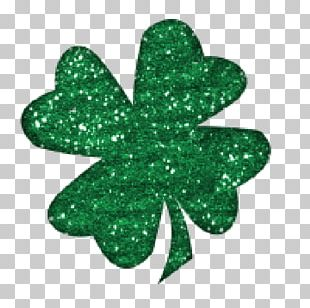 Saint Patrick's Day Four-leaf Clover T-shirt Shamrock PNG